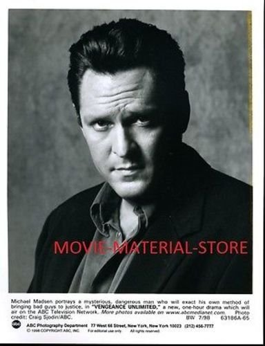 Michael Madsen Vengeance Unlimited Original 7x9