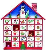 Premier Decoration Wooden Advent House, 40 cm