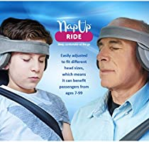 Neck and Chin in Any Sitting Position A Comfortable Safe Sleep Solution Adult Car Seat Head Support Travel Pillow NapUp Ride Supports The Head