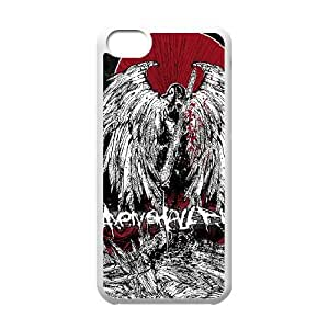 iPhone 5c Cell Phone Case Covers White Heaven Shall Burn
