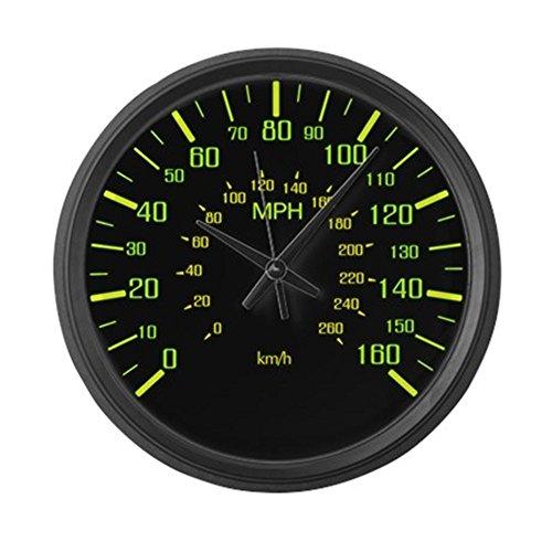 CafePress - Large Speedometer Clock - Large 17