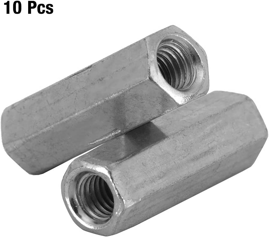 Hex Nut M625 carbon steel Standoff Threaded galvanized Office Appliance for Home Sleeve Nut Threaded