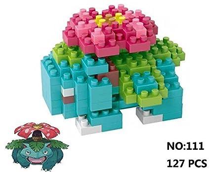 Amazon Lno Anime Pokemon Venusaur Nano Block Diamond Mini