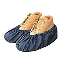MyShoeCovers Premium Reusable Shoe and Boot Covers for Contractors - Pair | Black - X Large