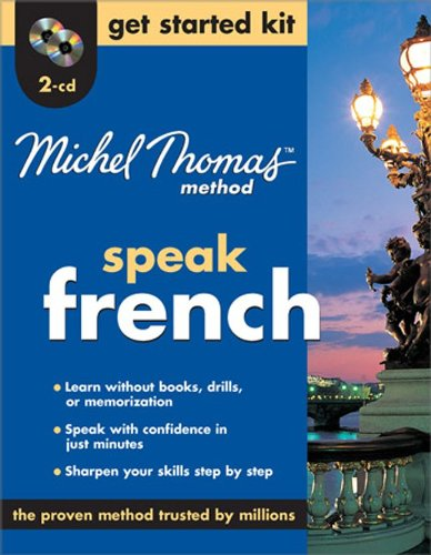 Michel Thomas Method™ French Get Started Kit, 2-CD Program (Michel Thomas Series)