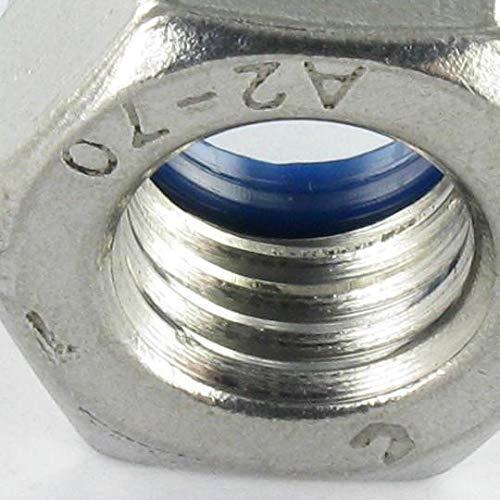 ECROU FREIN INOX A2 M14