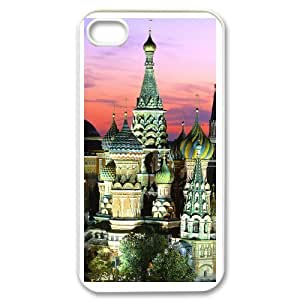 Personalized DIY Kremlin Custom Cover Case For iPhone 4,4S S5B693367