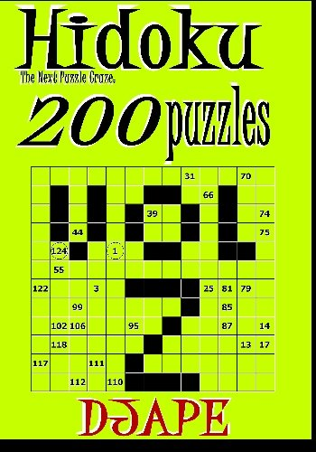 Hidoku: the next puzzle craze - 200 puzzles (volume 2) PDF