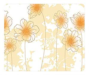 Freesia flower oblong mouse pad by Cases & Mousepads