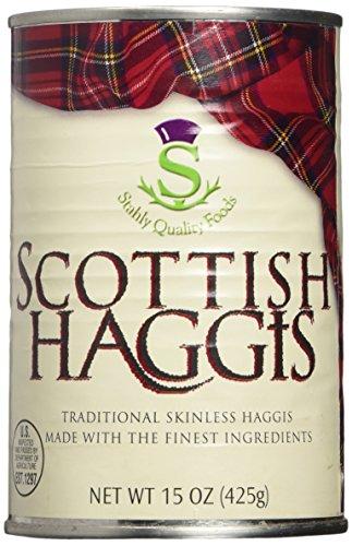 Scottish Food (Traditional Scottish Haggis 15oz, (Pack of 2))