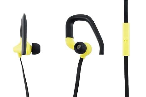Aiino - Auricolari Go Sport I Archetto Ergonomico I Microfono Integrato I  Compatibilità Universale I per 468c5bd92648