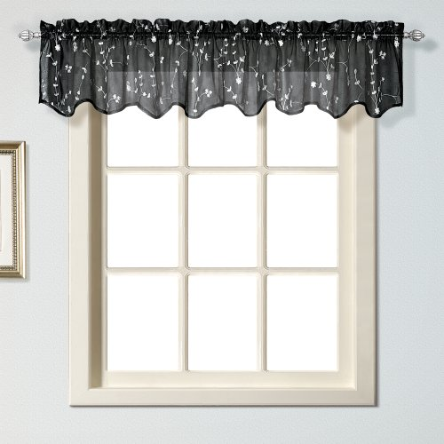 United Curtain Savannah Window Valance