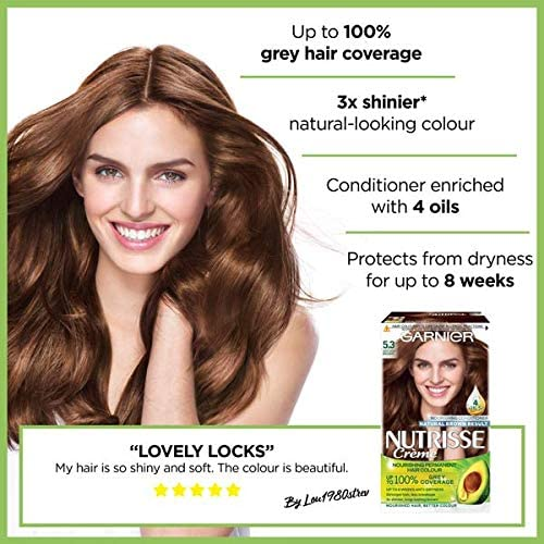 Garnier Nutrisse 5.3 - Tinte para el cabello permanente ...