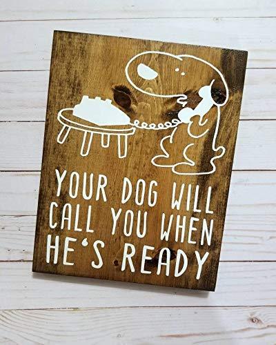 Ced454sy Regalo para el Novio de tu Perro te llamará Cuando ...