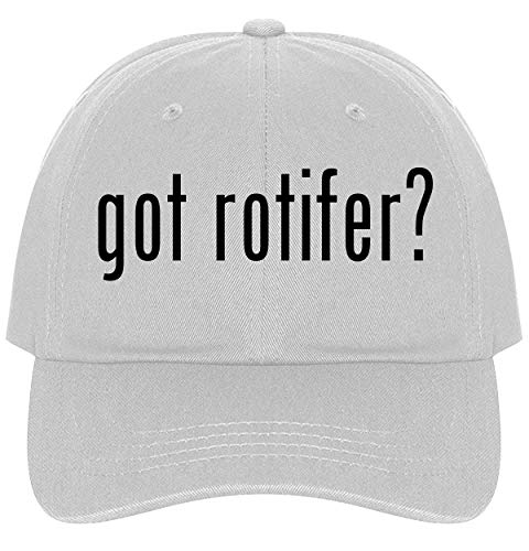 The Town Butler got Rotifer? - A Nice Comfortable Adjustable Dad Hat Cap, White