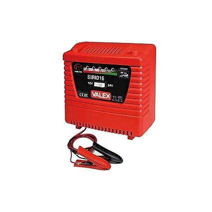 Valex sirio16 Cargador Coche tensión 12 - 24 V corriente 3 ...