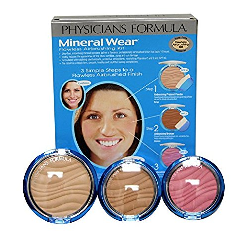 Physicians Formula Mineral Wear Flawless Airbrushing Kit, Me