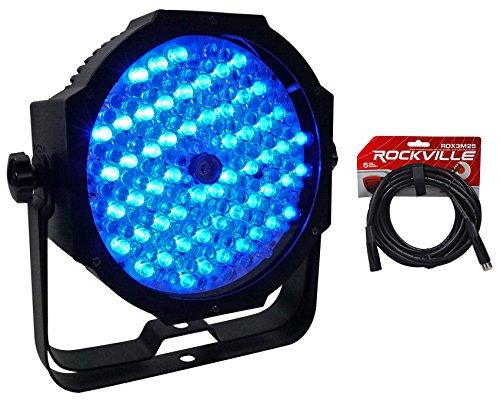 - American DJ Mega Go Par64 Plus Battery Powered Par 64 RGB Wash Light+DMX Cable