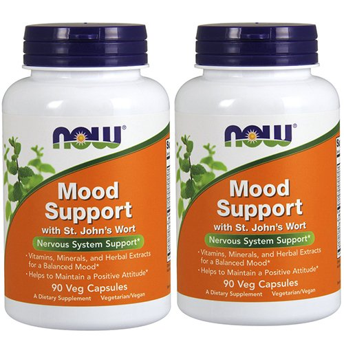 Now Foods Mood Support With St Johns Wort 180