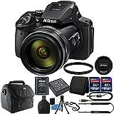 Nikon COOLPIX P900 Digital Camera + 67mm UV Filter + Top Accessories