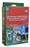 Adams Christmas 9040-99-1630 All Purpose Light Holder, 100-Pack