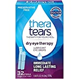 TheraTears Dry Eye Therapy Lubricant Eye Drops Single-Use Special 6 Pack ( 192 CT Total )