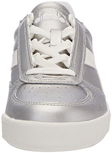 L Metallizzato Chaussures B elite argento Gymnastique Diadora Wn De Gris Femme pxERHTq
