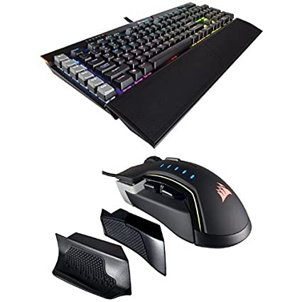 406c80f7cab CORSAIR K95 RGB PLATINUM Mechanical Gaming Keyboard - USB Passthrough &  Media Controls - Tactile & Quiet - Cherry MX Brown – RGB LED Backlit and  CORSAIR ...