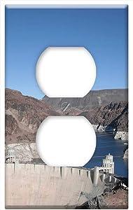 Boulder Dam Las Vegas Nevada Hoover Dam Dam -Outlet Cover Switch Plate