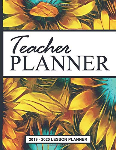 Simple Plan Tour 2020 Teachers Simple Plan Books: Happy Sunflower Bloom Weekly Monthly