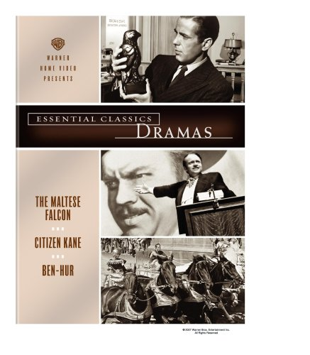 Essential Classics - Dramas (The Maltese Falcon / Citizen Kane / Ben-Hur) - Charlton Heston Orson Welles