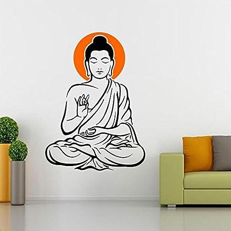 0b5311aa7d7 Buy SRGindia  Yogi Buddha  Wall Sticker (Vinyl