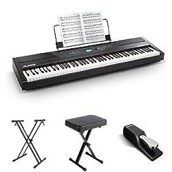 alesis recital pro 88 key vs yamaha p45 reviews prices specs and alternatives. Black Bedroom Furniture Sets. Home Design Ideas