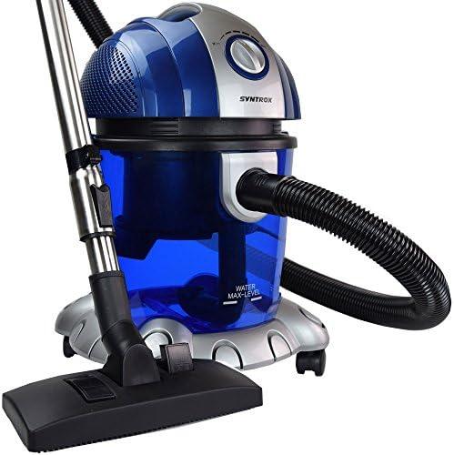 Syntrox Germany – WS de 2500 W Neptun – Aspiradora con filtro de agua seco y húmedo aspirador: Amazon.es: Bricolaje y herramientas