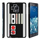 MINITURTLE Case Compatible w/ [Samsung Galaxy Note Edge Slim case, Note Edge case ][Snap Shell] Hard Plastic Slim Fitted Snap on case w/ Unique Designs Game Controller