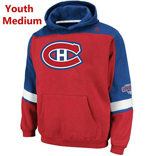 - Majestic Montreal Canadiens Youth Medium Hooded NHL Lil Ice Classic Sweatshirt