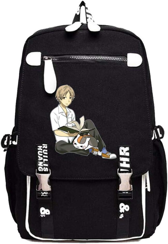 Gumstyle Natsume Yuujinchou Anime Cosplay Laptop Backpack Book Bag Rucksack Schoolbag for Students 16