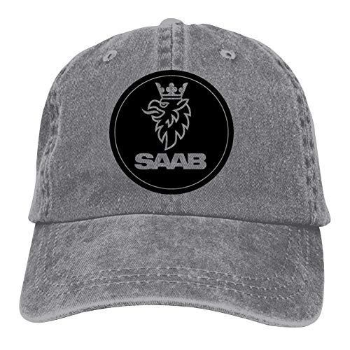 TIMOTHY HORN SAAB Logo Unisex Cowboy hat,Denim Hat,Dad Trucker Hat,Fishing Peaked Cap