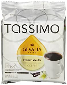 Gevalia French Vanilla Medium , T-Discs for Tassimo Brewer, 16 Count, 4.33 Ounce by Tassimo