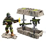 Mega Bloks Mega Construx Call of Duty Care Package Green Building Set