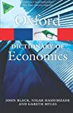 A Dictionary of Economics 4/e (Oxford Quick Reference)