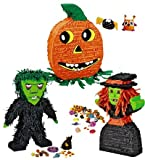 "Frightful ""Frankie"" Monster Pinata, Made in Mexico"