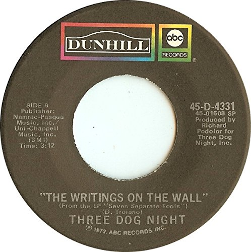 Pieces Of April / The Writings On The Wall 7