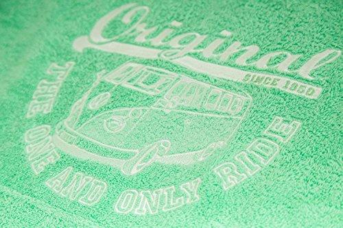 Original Ride VW Bulli Surf Poncho Apfelgrün