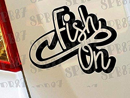 Father Children Boys Fishing Vinyl Car Decal Sticker//Choose Color HIGH QUALITY