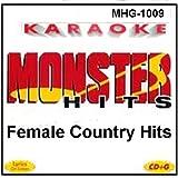 Monster Hits Karaoke 1009 - Female Country Hits