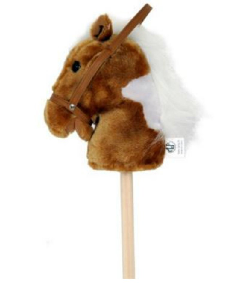 M & F Western Boys' Stick Pony With Sounds Brown One Size [Toy]