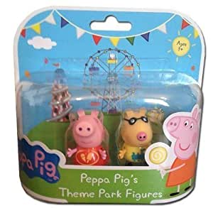 Peppa Pig Theme Park Figuras - Peppa & Pedro Pony
