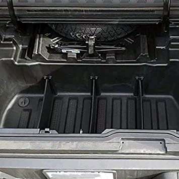 Red Hound Auto Truck Bed Storage Dividers Compatible with Honda Ridgeline 2017-2020 in-Bed Transport Organizer Cargo Organizational System Set of 3
