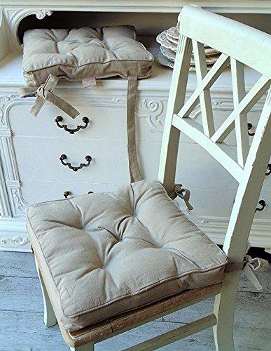 Cuscino per sedia Blanc Mariclo Basic Collection Colore Bicolor ...